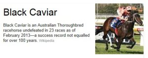 BlackCaviar photo
